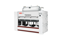 TM2680A Solid wood veneer positive negative pressure curved surface press machine