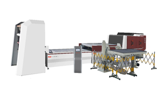 TM3000P Membrane Press With PIN System for Membrane Furniture High Productivity