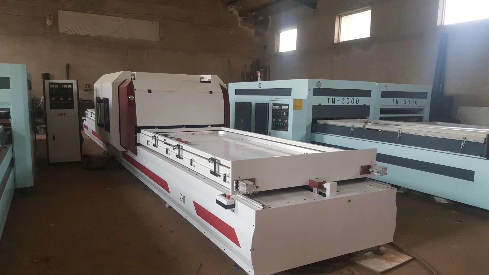 TM3000 vacuum membrane press machine supplier
