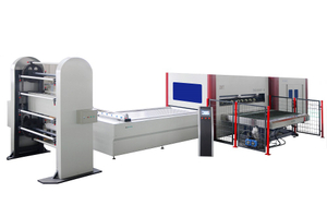 TM3000P-B Air Press top and bottom vacuum system Laminating Press Machine With Automatic Pin System