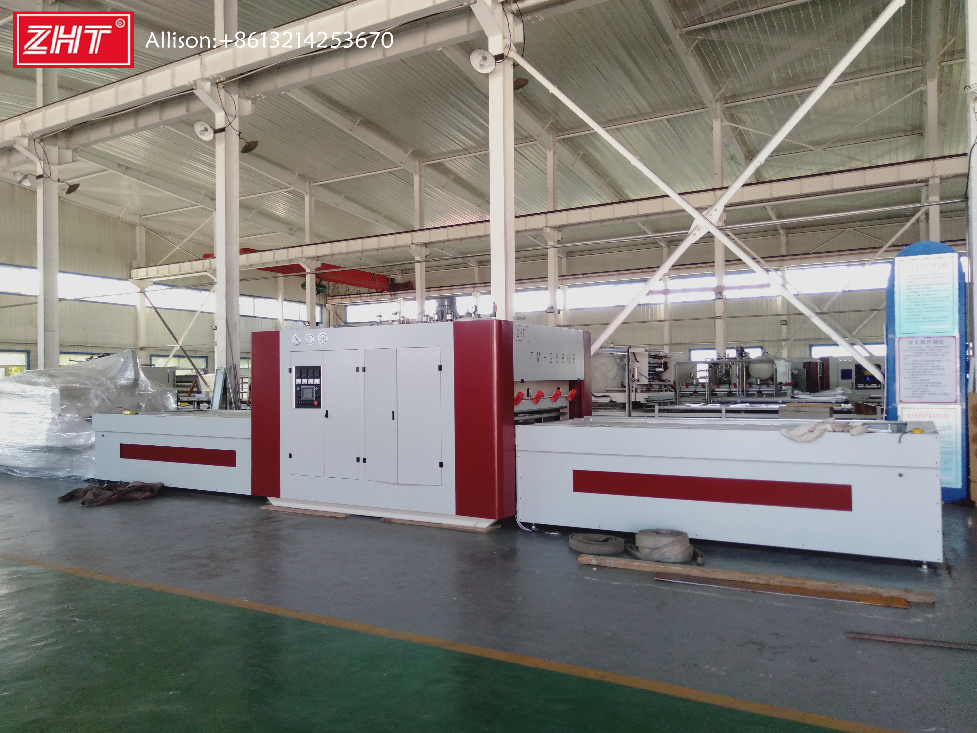 TM 2580F Vacuum Upper Pressure Membrane Press Machine Balloon Press Laminate