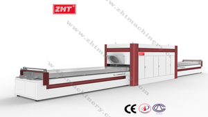TM4500 Vacuum Membrane Press Laminating Machine for PVC Paint-Free Door extra-long worktray
