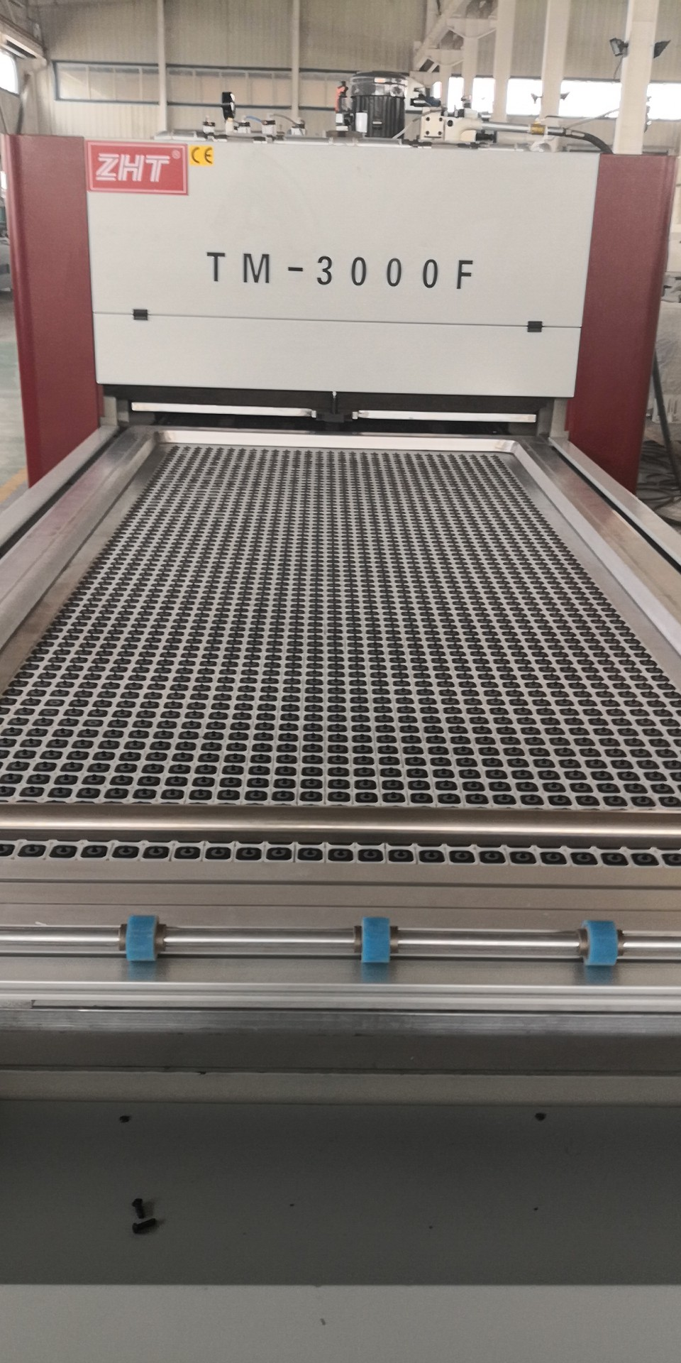 Vacuum Membrane Press Machine with Pin System No Bottom Pad Fully Automatic